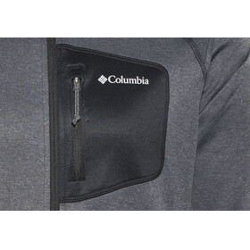 Columbia Jackson Creek II Full Zip Jacket Men Black Heather